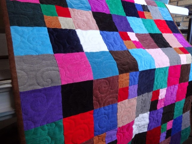 Inch by Inch Quilting: Corduroy Baby Quilt : corduroy quilts - Adamdwight.com