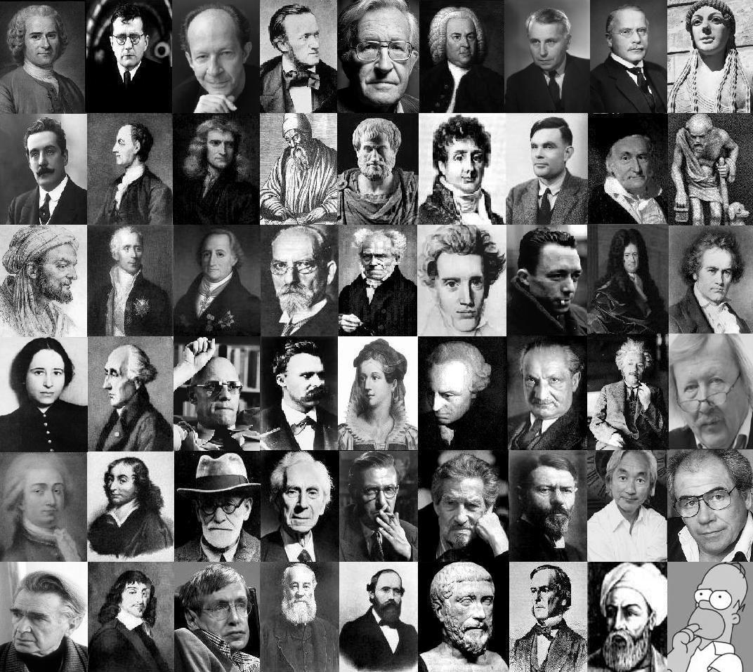 Filósofos, Pensadores & Gênios: