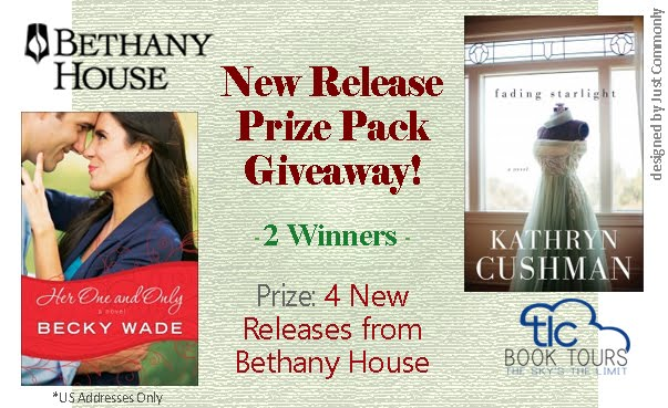 Bethany House New Release Prize Pack Giveaway thru 6/3