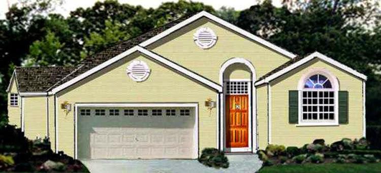 Simple Design House One Floor