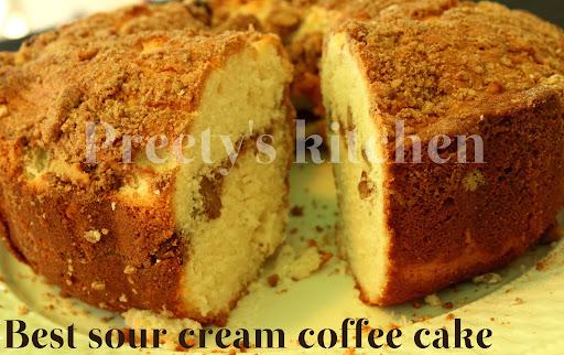 Sour Cream Coffee Cake Ina Cool
