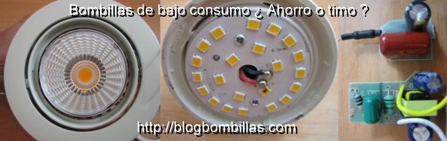 Bombillas de bajo consumo ¿ahorro o timo?