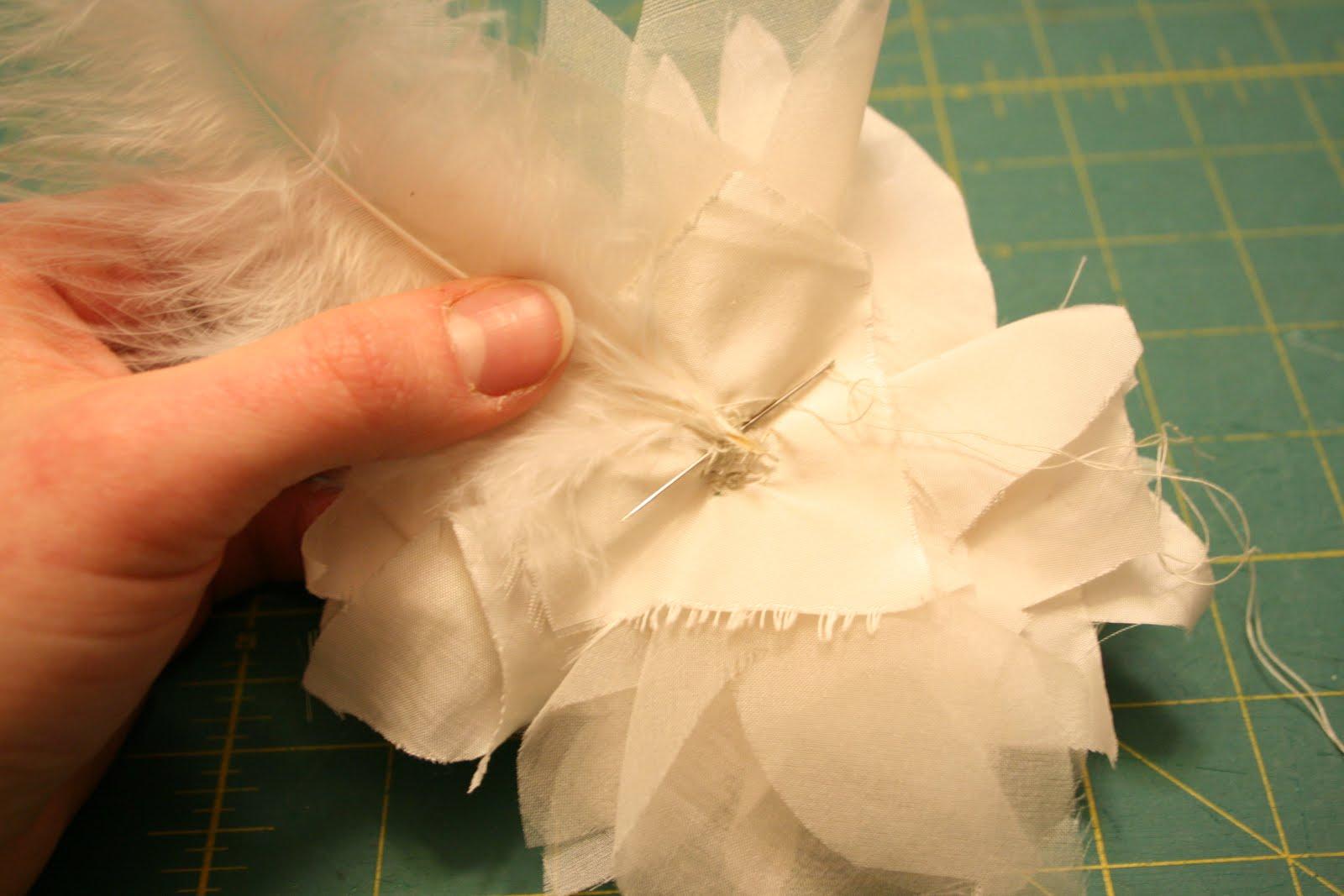 Вуалетка цветок своими руками