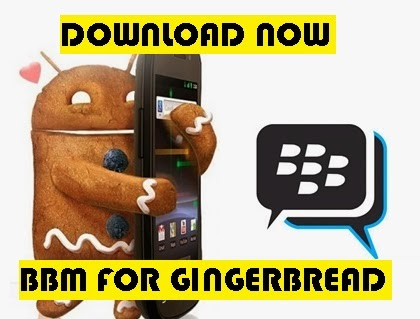 Download BBM for Android Gingerbread
