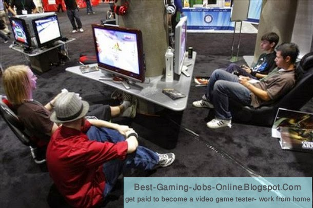 gaming online jobs