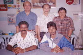 Mohanadas and Magendran the First Malaysian to reach the top of Mt. Everest on May 23, 1997
