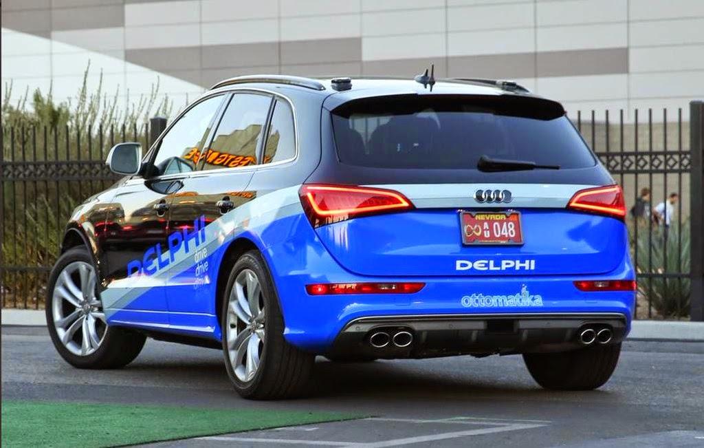 delphi la voiture sans chauffeur a entam sa travers e de l 39 am rique infos du monde. Black Bedroom Furniture Sets. Home Design Ideas