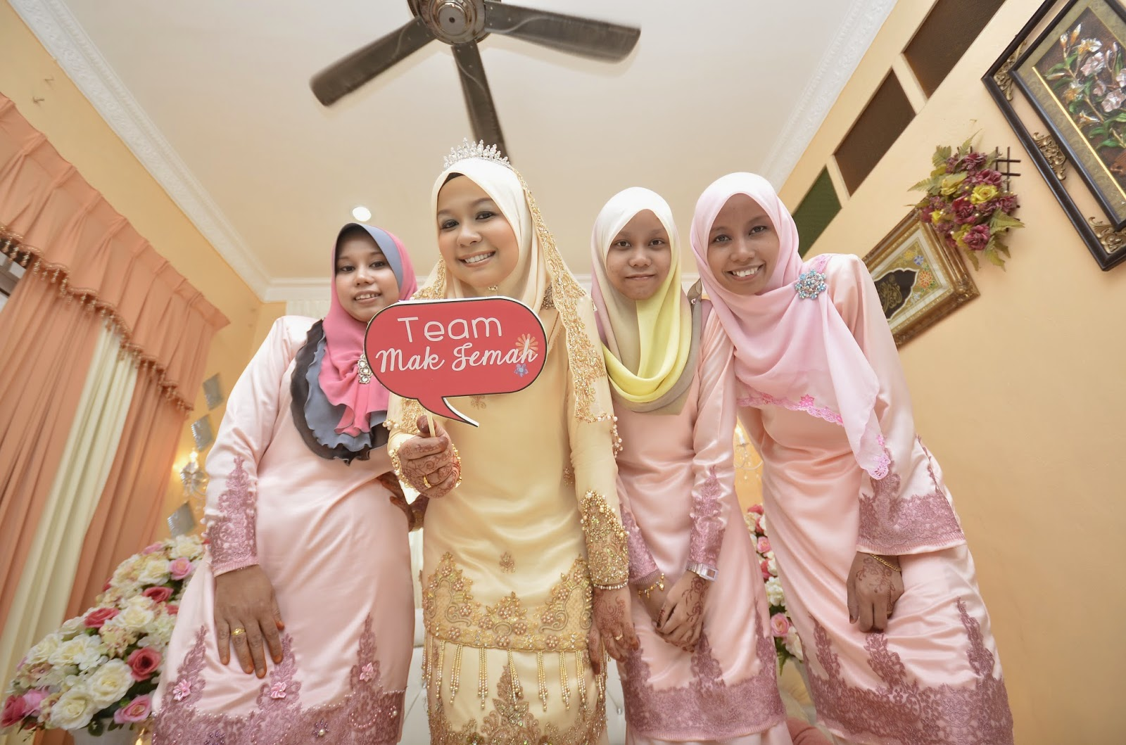 COMPLETE SET BAJU NIKAH UNTUK DISEWA SOLEMNIZATION DRESS FOR RENT