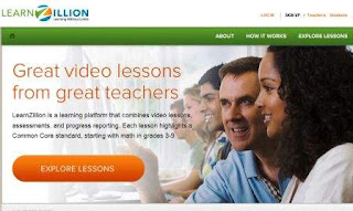 Go to LearnZillion to access math resources