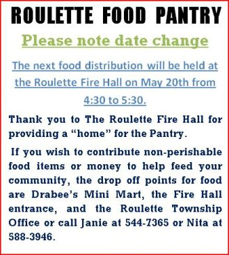 5-20 Roulette Food Pantry
