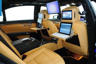 Mercedes s600 interior - صور مرسيدس s600 من الداخل