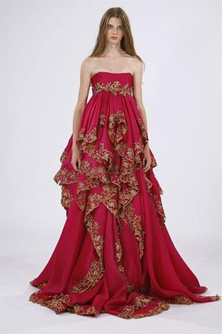 Marchesa western wedding dresses for
