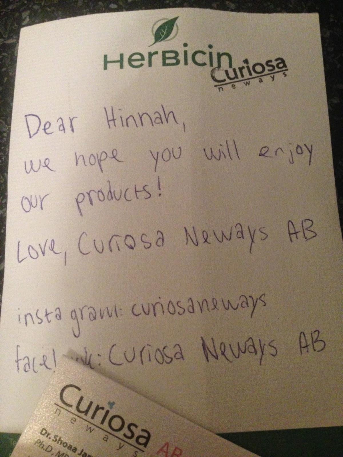 Hinnah39s Beauty Bites Curiosa Neways Henna Eyebrows And Henna