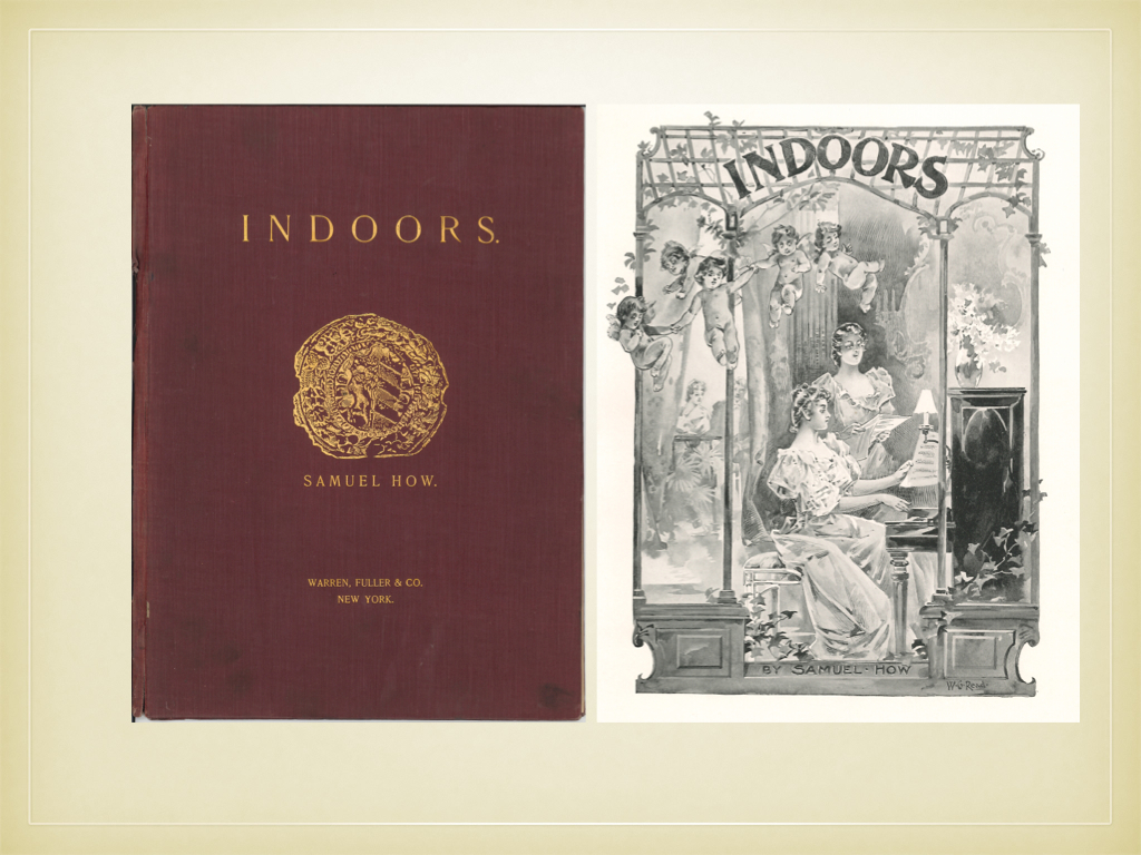 "cholar com in the gilded age part iv  ""indoors"" cover and title page"