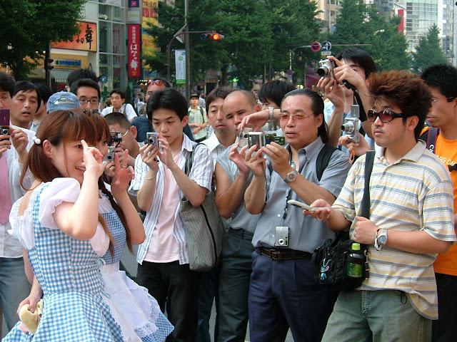Otaku en Akihabara