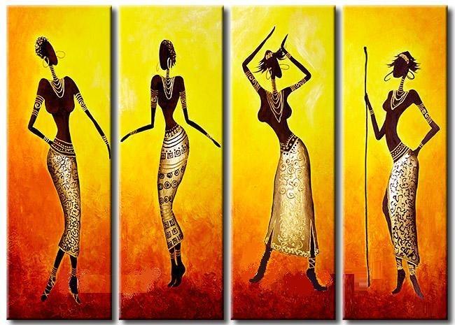 Figuras africanas para cuadros imagui - Bimago cuadros modernos ...