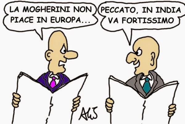 vignetta Mogherini