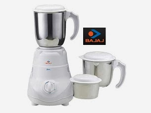 Deep Discount Offer on Bajaj Mixer Grinders: Bajaj Bravo 3 Jar Mixer Grinder worth Rs.3190 for Rs.1505 Only