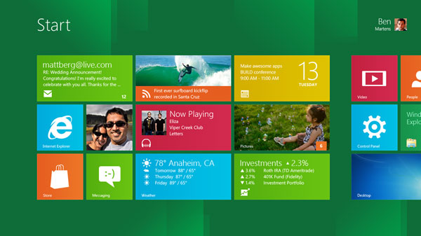 Download Windows 8 Developer Preview