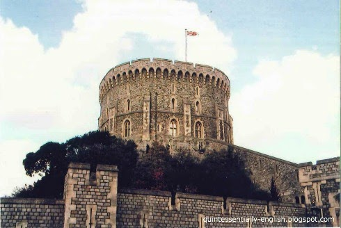 Round Tower of Windsor Castle, England