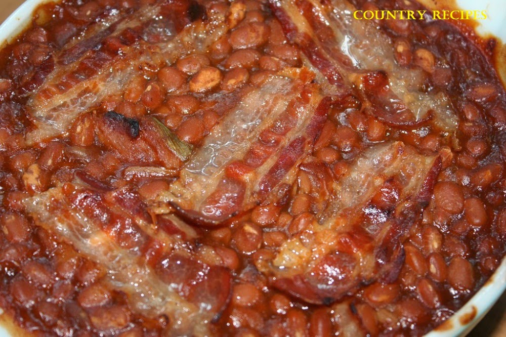 Baked Beans in a Hurry - Country Recipes Style ~ Country Recipes