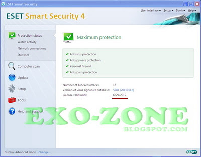 Keys Special Nod32/Eset  Smart