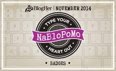 NaBloPoMo badge