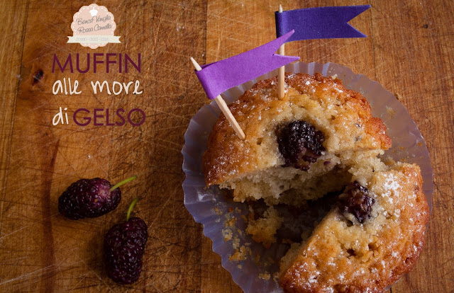 muffins alle more di gelso