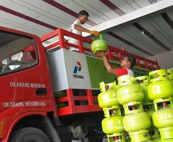 tanggal pembagian tabung gas di Batola, Tabalong, HSS, dan HST