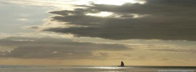 couverture facebook nuage et mer