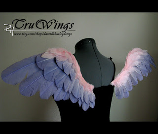 Danielle Hurley TruWings two tone costum angel wings