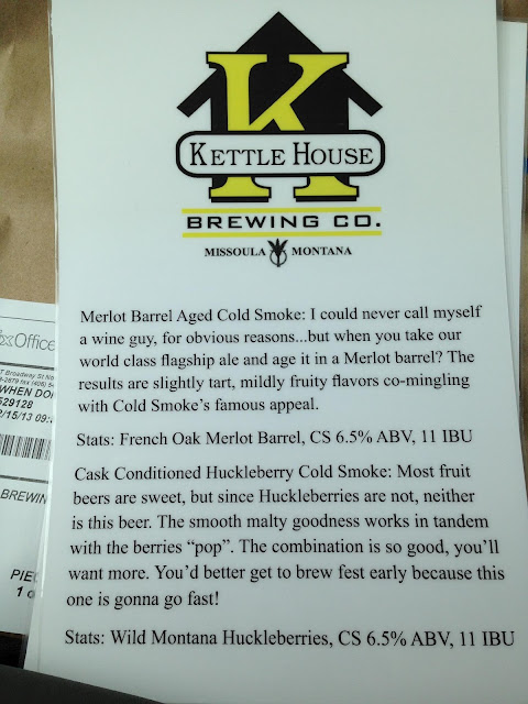 Kettlehouse Brewing Co. - Missoula Montana