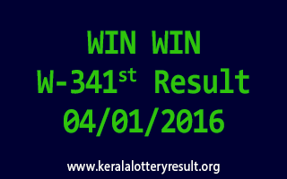 WIN WIN W 341 Lottery Result 4-1-2016