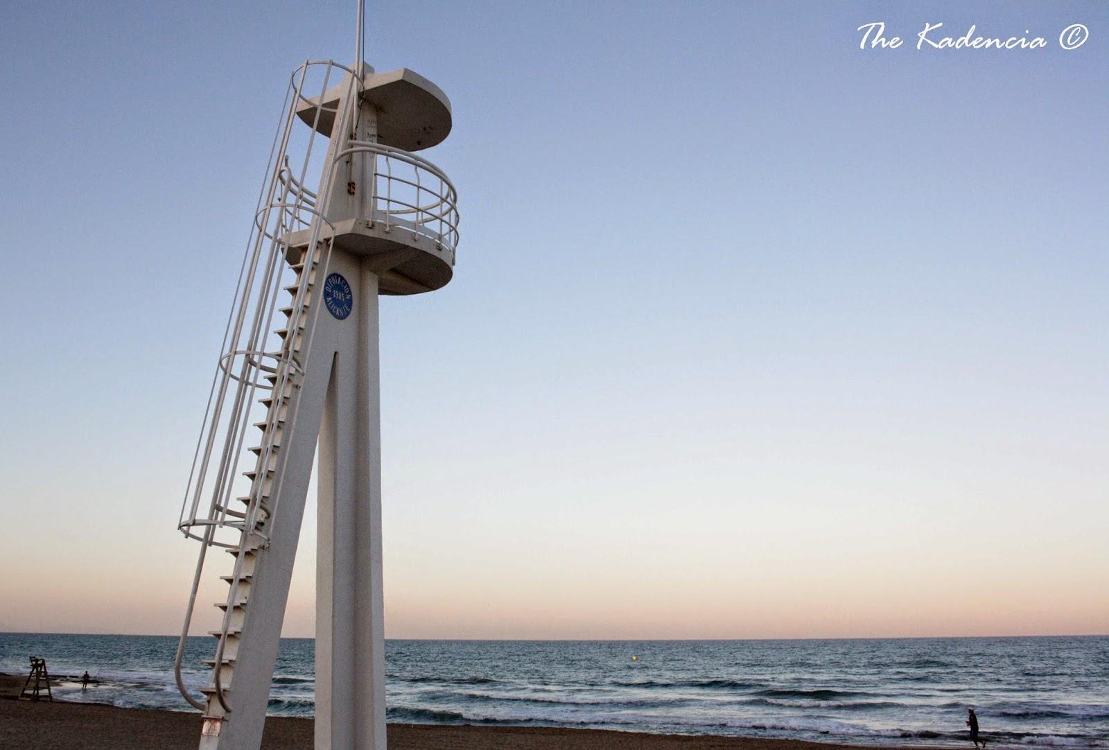 puesto socorrista playa