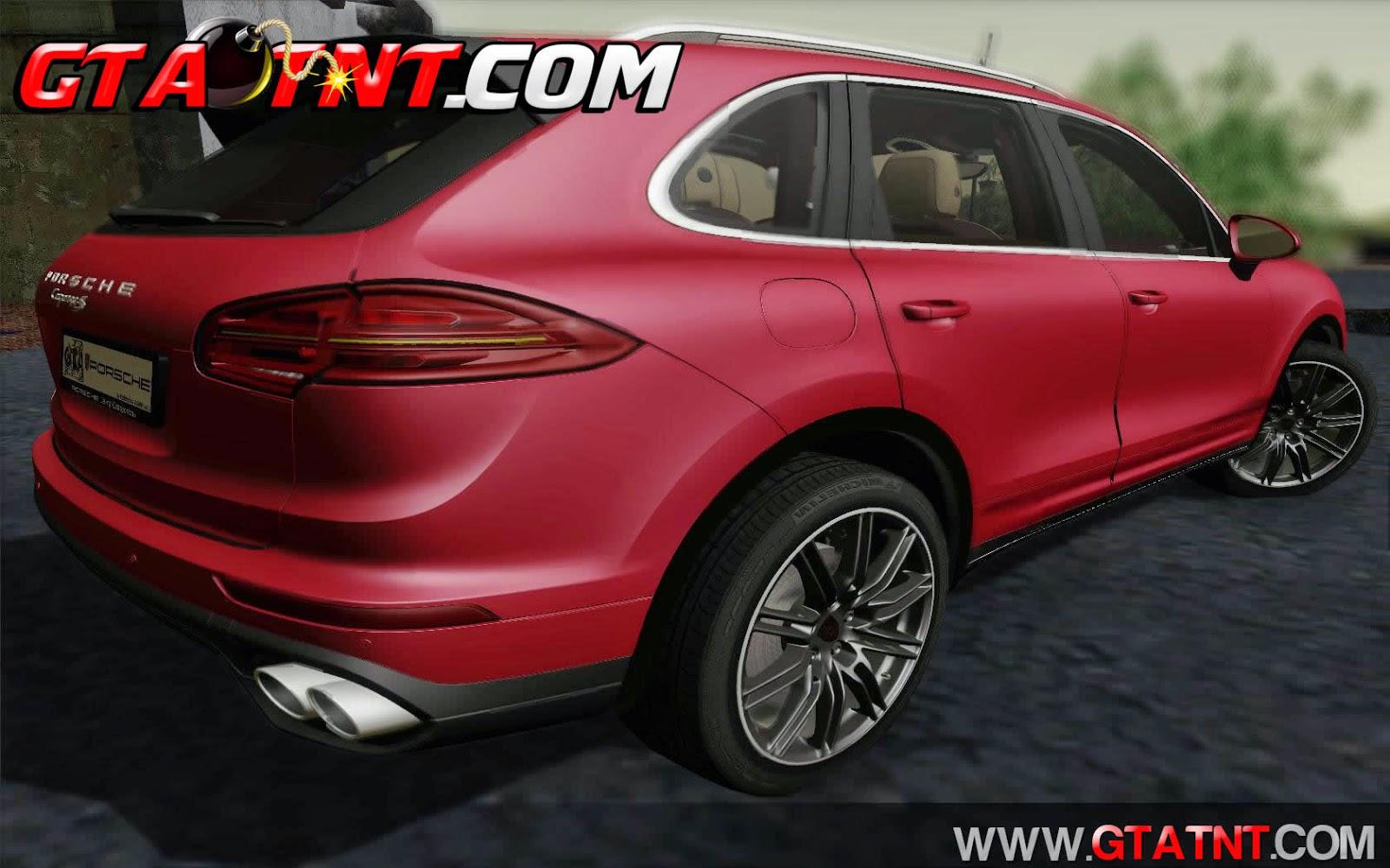 Porsche Cayenne 2015 para GTA San Andreas