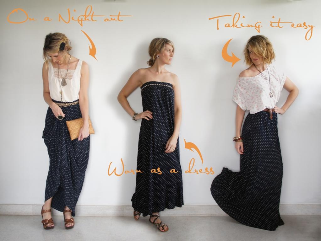 hip shapes and bristol fashion three ways to wear a maxi