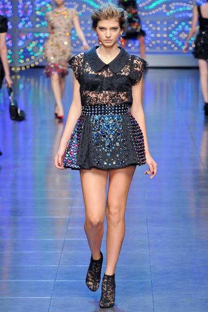 dolce gabbana68 - Dolce&Gabbana Ilkbahar 2012 | Milan Moda Haftas�