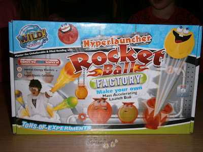 Hyperlauncher wild science making bouncy ball kit box