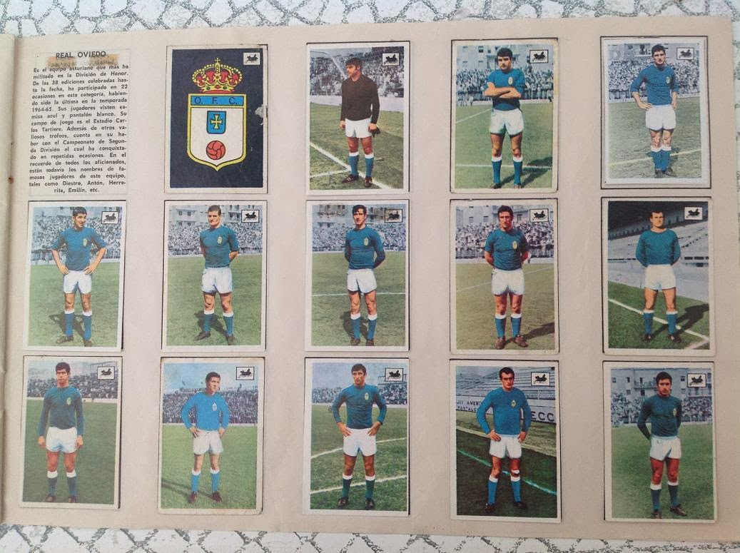 Real Oviedo 1969-70 Chocolates La Cibeles