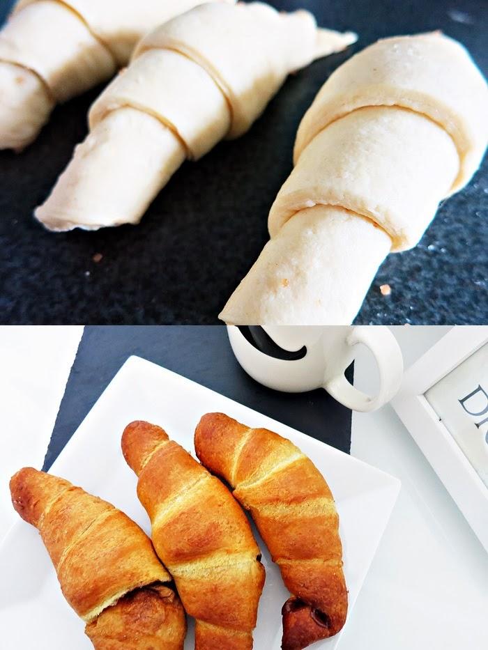 Chai Zimt Croissants