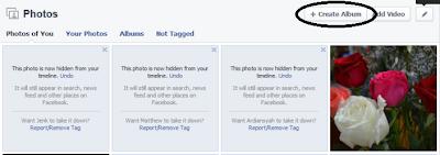 cara membuat album foto facebook 2