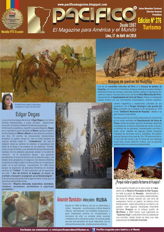 Revista Pacifico Nº 376 Turismo