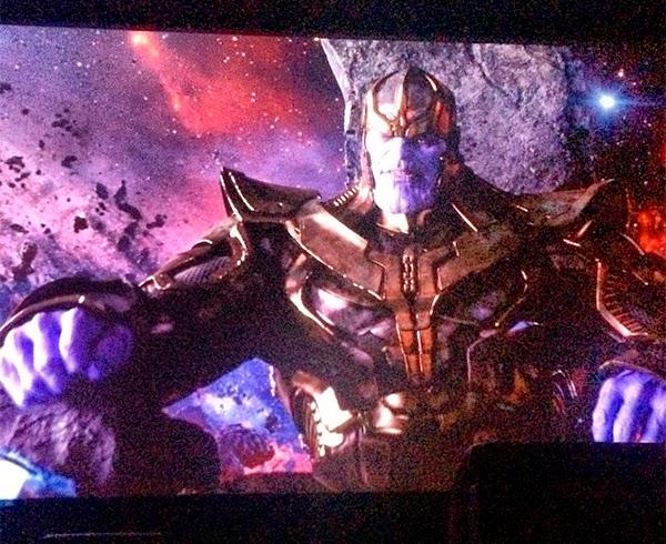 Josh Brolin como Thanos en Guardianes de la Galaxia