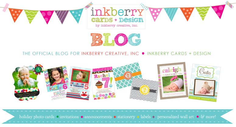 Inkberry Cards & Design Blog - Designer Invitations, Photo Cards, Stationery and More!