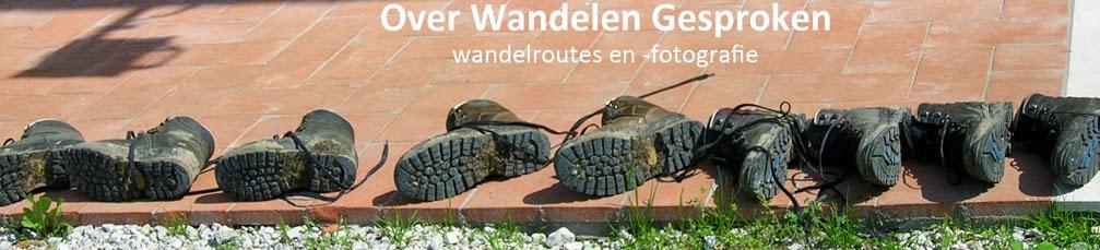 Wandelingen, een weblog met wandelroutes