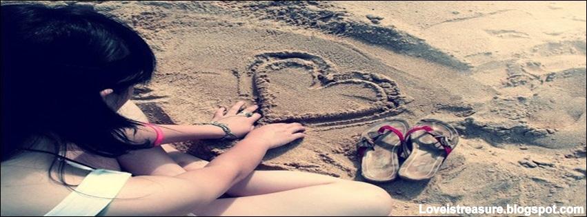 Love is Treasure: Cute girls facebook covers | cute alone ...