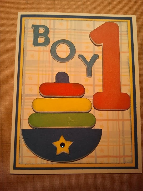 Handmade By R B Childs Birthday Card