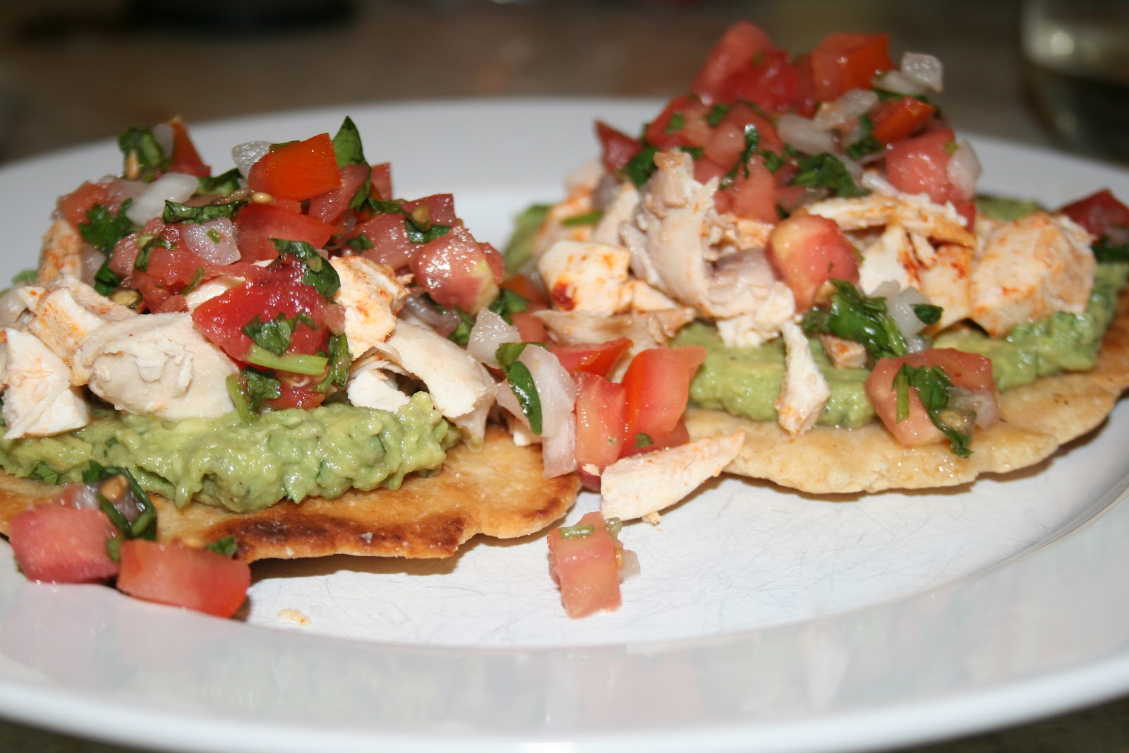 ... Recipes, meal plans, and shopping lists: Chicken and Avocado Tostadas