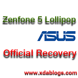 Asus Zenfone 5 Lollipop official recovery.img