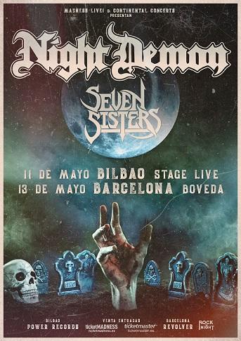 NIGHT DEMON + SEVEN SISTERS